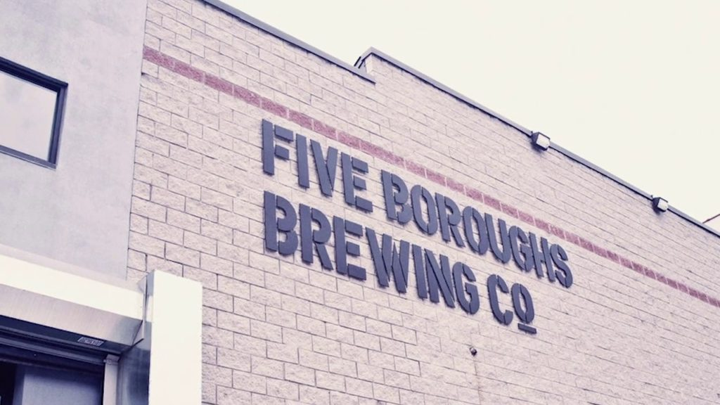 Five Boroughs Brewing Co. Microbrewery 30BBL 2018